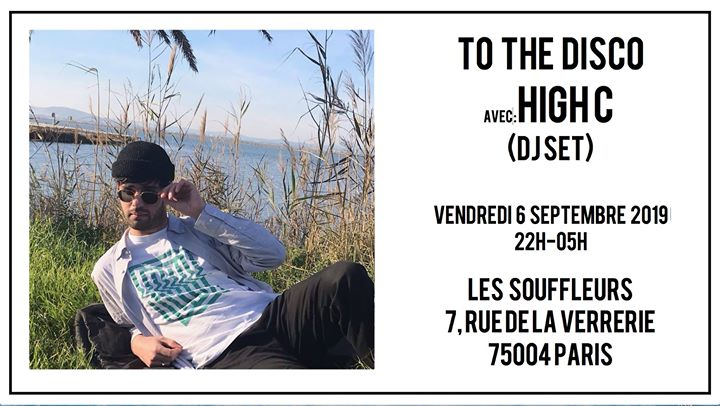 To The Disco: Back to School avec High C @Les Souffleurs in Paris le Fr  6. September, 2019 22.00 bis 05.00 (Clubbing Gay)