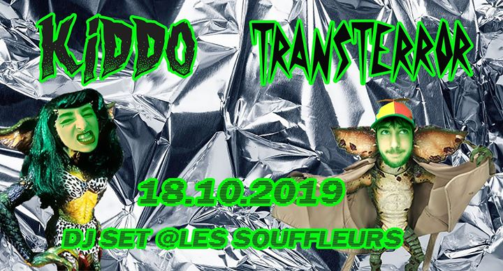 KIDDO x Transterror in Paris le Fr 18. Oktober, 2019 21.30 bis 04.00 (Clubbing Gay)