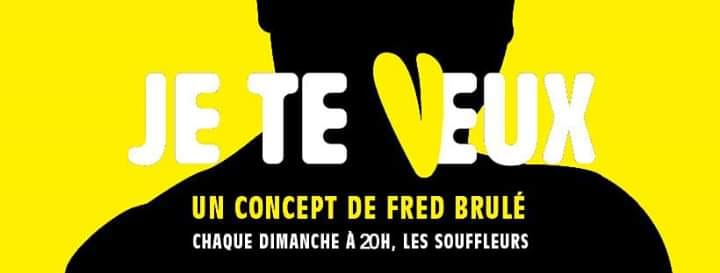 Je te veux #23 - Comedy Jam Fighters - Humour aux Souffleurs en Paris le dom 23 de junio de 2019 20:00-22:00 (After-Work Gay)