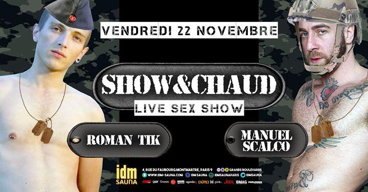 Show & Chaud #25 em Paris le sex, 22 novembro 2019 19:00-23:00 (Sexo Gay)