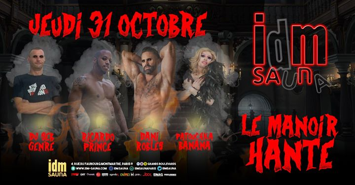 Halloween IDM PARTY in Paris le Thu, October 31, 2019 from 06:00 pm to 11:30 pm (Sex Gay)
