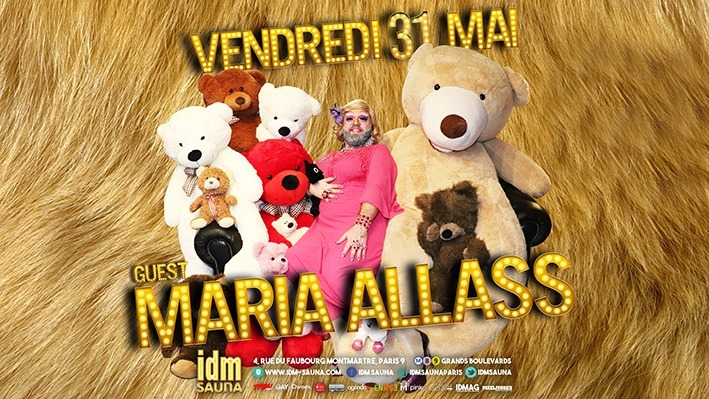 Happy #Maria Allass in Paris le Fri, May 31, 2019 from 05:00 pm to 11:00 pm (Sex Gay)