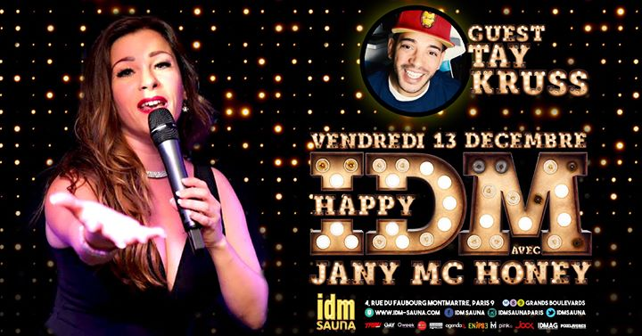 Happy Jany & TAY in Paris le Fr 13. Dezember, 2019 19.00 bis 22.00 (Sexe Gay)