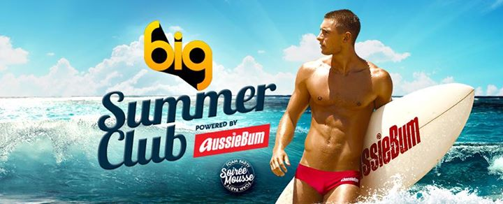 BIG SUMMER CLUB - The Foam Party powered by aussieBum  @Yoyo in Paris le Sat, July 20, 2019 from 11:45 pm to 06:00 am (Clubbing Gay)