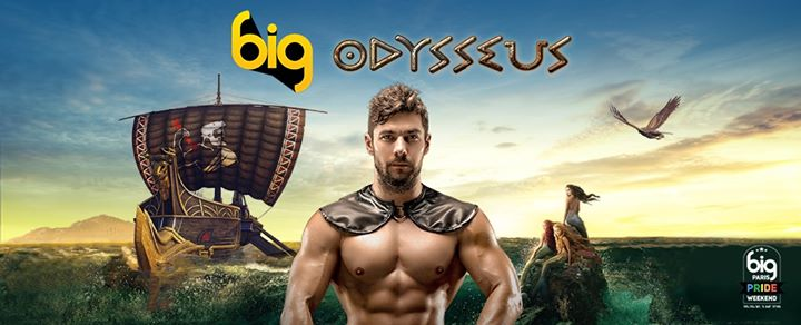 BIG Odysseus @Bridge - BIG PRIDE Opening Event- in Paris le Fri, June 28, 2019 from 11:00 pm to 05:30 am (Clubbing Gay)