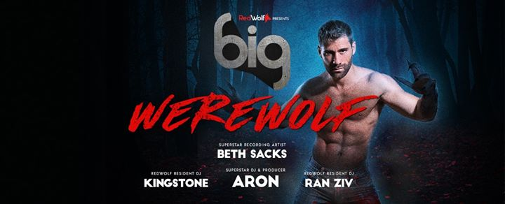 BIG WereWolf with ARON & BETH SACKS - Halloween Party in Paris le Sat, October 26, 2019 from 11:45 pm to 06:30 am (Clubbing Gay)