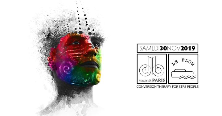 db (lgbtqi+ party Paris) / conversion therapy 4 str8 people in Paris le Sa 30. November, 2019 23.55 bis 06.00 (Clubbing Gay, Bear)