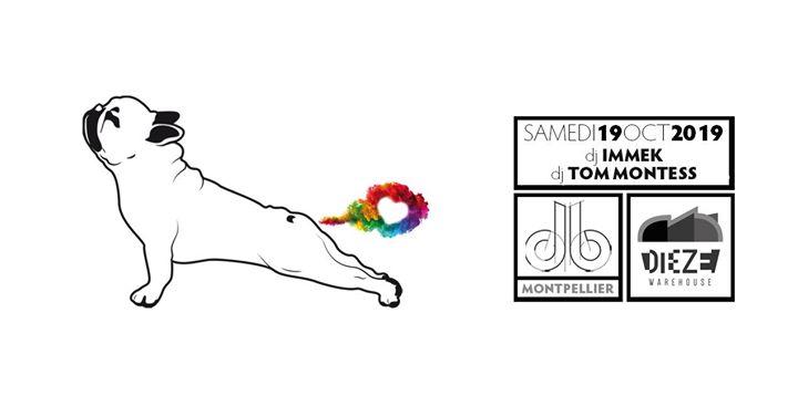 db par Beardrop db / Immek - Tom Montess (Montpellier) en Montpellier le sáb 19 de octubre de 2019 23:55-06:00 (Clubbing Gay, Oso)