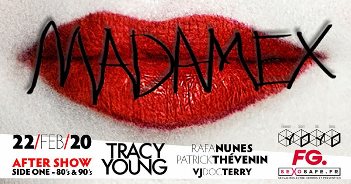 Madame X tour Paris / After Show / side one in Paris le Sat, February 22, 2020 from 11:45 pm to 06:00 am (Clubbing Gay, Bear)