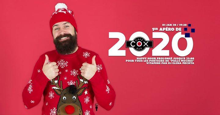 1er Apéro de l'année 2020. Edition Pulls Moches en Paris le mié  1 de enero de 2020 19:30-02:00 (After-Work Gay)
