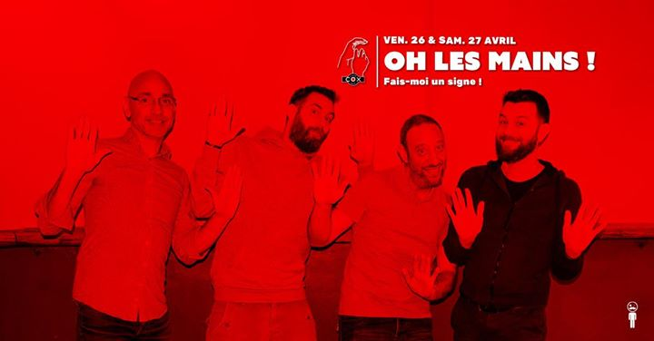 Ho les Mains ! en Paris le vie 26 de abril de 2019 19:00-02:00 (After-Work Gay)