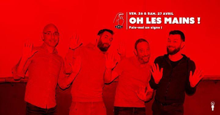 Ho les Mains ! à Paris le sam. 27 avril 2019 de 19h00 à 02h00 (After-Work Gay)