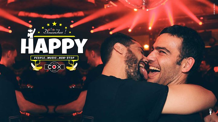 Happy Cox en Paris le dom 14 de abril de 2019 18:00-02:00 (After-Work Gay)