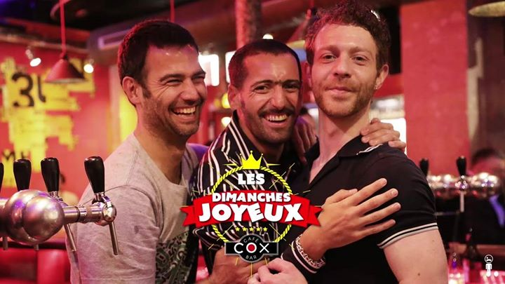 Les dimanches Joyeux #cox en Paris le dom 19 de enero de 2020 18:00-02:00 (After-Work Gay)