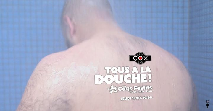 Tous à La Douche ! en Paris le jue 13 de junio de 2019 19:00-02:00 (After-Work Gay)