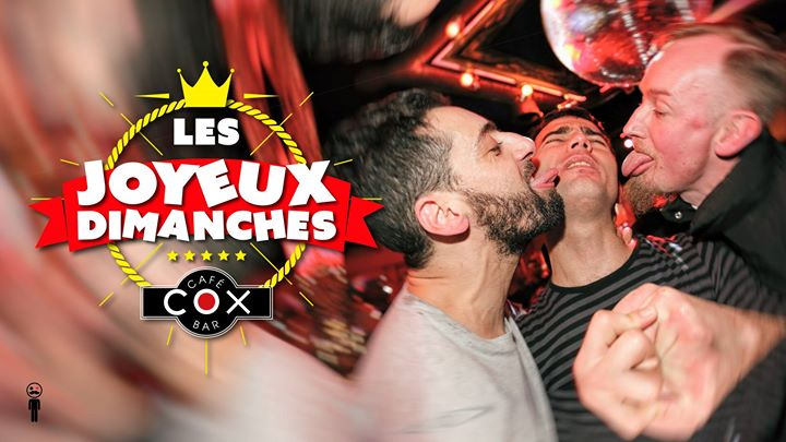 Les dimanches Joyeux à Paris le dim. 21 avril 2019 de 18h00 à 02h00 (After-Work Gay)