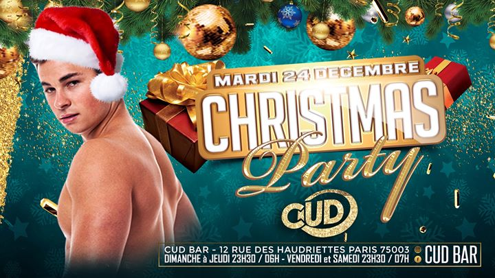 CUD X Christmas Party en Paris le mar 24 de diciembre de 2019 23:30-07:00 (Clubbing Gay)