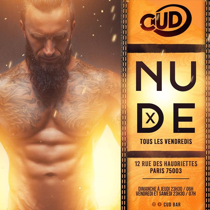 La Nude in Paris le Sat, August 17, 2019 from 12:00 am to 07:00 am (Clubbing Gay)