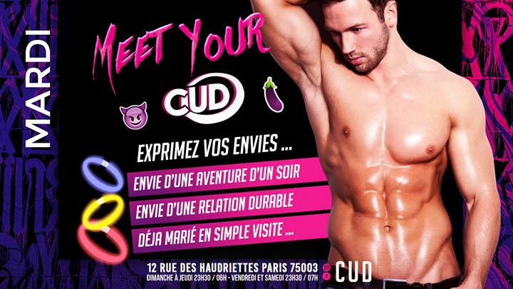 MEET YOUR CUD in Paris le Tue, December 10, 2019 from 11:30 pm to 06:00 am (Clubbing Gay)