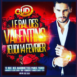 Le bal des Valentins au CudBar in Paris le Thu, February 14, 2019 at 11:55 pm (Clubbing Gay)