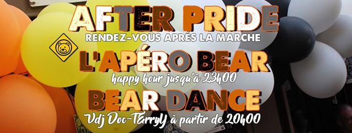 AFTER PRIDE BEARS'DEN PARIS in Paris le Sat, June 29, 2019 from 05:00 pm to 06:00 am (Clubbing Gay, Bear)