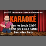 Bear Karaoké in Paris le Thu, December 13, 2018 from 09:30 pm to 12:30 am (After-Work Gay, Bear)