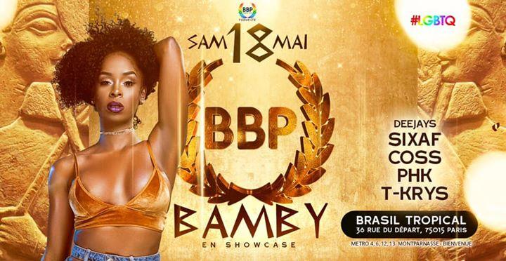 BBP CLEOPATRE SHOW BAMBY - 18 Mai 2k19 à Paris le sam. 18 mai 2019 de 23h45 à 06h00 (Clubbing Lesbienne)