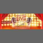 Mercredi Live On Stage in Paris le Wed, December 26, 2018 from 06:00 pm to 04:00 am (Clubbing Gay)