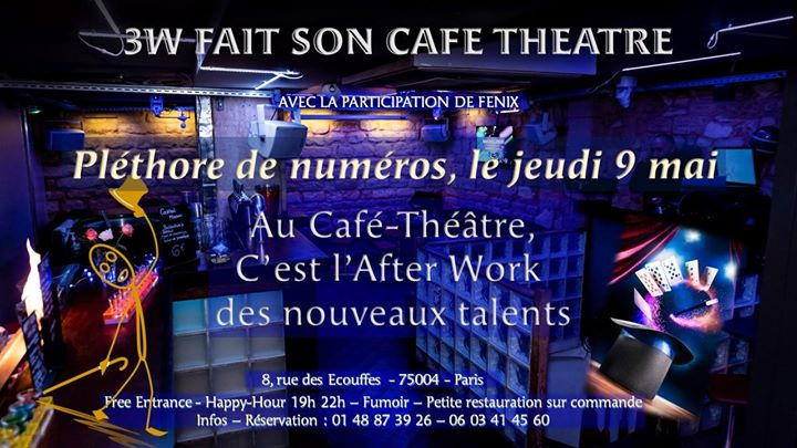 AFTER WORK LE JEUDI in Paris le Thu, May  9, 2019 from 08:00 pm to 11:45 pm (After-Work Gay Friendly, Lesbian)