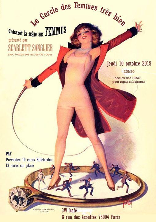 Le Cercle des Femmes très bien acte 2 em Paris le qui, 10 outubro 2019 20:30-23:30 (After-Work Gay Friendly, Lesbica)