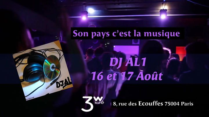 Son pays c'est la musique in Paris le Sat, August 17, 2019 from 07:00 pm to 06:30 am (Clubbing Gay Friendly, Lesbian)