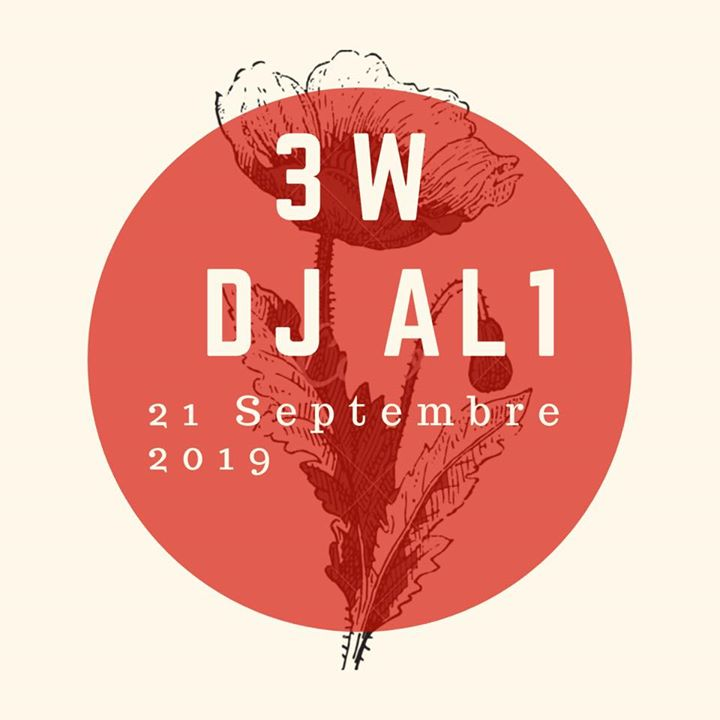 Dj al1 au 3w kafé le samedi 21 septembre in Paris le Sat, September 21, 2019 from 11:00 pm to 06:30 am (Clubbing Gay Friendly, Lesbian)