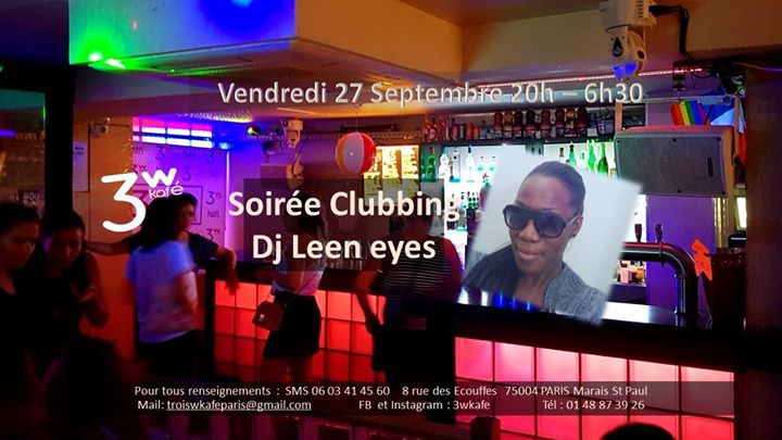 Passons la nuit avec Leen! en Paris le vie 27 de septiembre de 2019 19:00-06:30 (Clubbing Gay Friendly, Lesbiana)