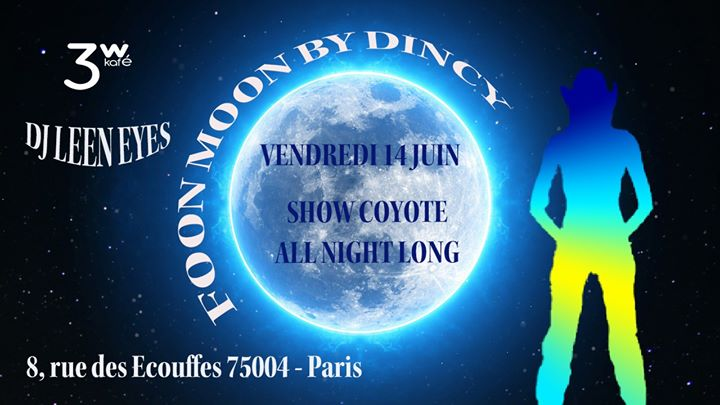 En juin c'est la Foon Moon à Paris le ven. 14 juin 2019 de 19h00 à 06h30 (After-Work Gay Friendly, Lesbienne)