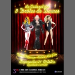 Cabaret Show in Paris le Sun, November 25, 2018 from 07:00 pm to 12:00 am (Show Gay Friendly, Lesbian)