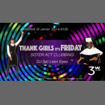 Thank Girls, it's Friday Sister act à Paris le ven. 25 janvier 2019 de 19h00 à 06h30 (After-Work Gay)