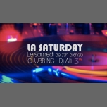 La saturday avec DJ Al1 in Paris le Sat, December 15, 2018 from 07:00 pm to 06:30 am (Clubbing Gay Friendly, Lesbian)