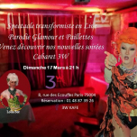 Soiree cabaret a 3W Kafé in Paris le Sun, March 17, 2019 from 08:00 pm to 11:00 pm (After-Work Gay Friendly, Lesbian)