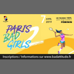 Paris Bad Girls #2 à Paris le dim.  7 avril 2019 de 09h00 à 19h00 (Sport Lesbienne)