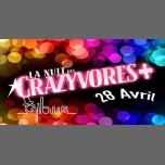 La Nuit des Crazyvores + à Paris le sam. 28 avril 2018 de 23h00 à 06h00 (Clubbing Gay, Lesbienne, Hétéro Friendly)