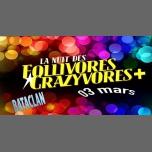 La Nuit des Follivores Crazyvores + à Paris le sam.  3 mars 2018 de 23h55 à 06h00 (Clubbing Gay, Lesbienne, Hétéro Friendly)