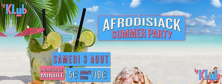 Afrodisiack Summer Party à Paris le sam.  3 août 2019 de 23h55 à 06h30 (Clubbing Gay)