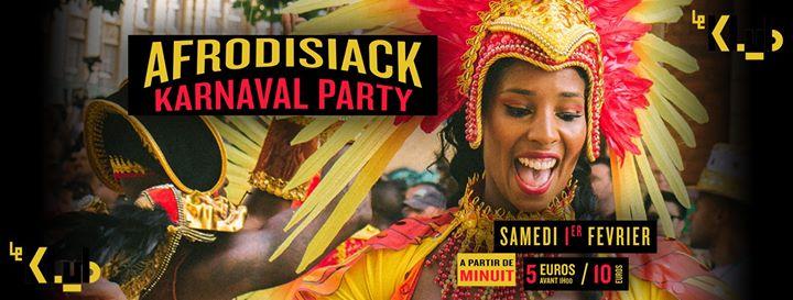 巴黎Afrodisiack Karnaval Party2020年11月 1日,23:55(男同性恋 俱乐部/夜总会)