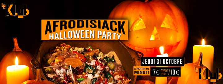 Afrodisiack Halloween Party em Paris le qui, 31 outubro 2019 23:55-06:30 (Clubbing Gay)