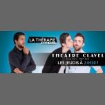 La Thérapie pour tous à Paris le jeu.  6 avril 2017 de 21h30 à 22h40 (Théâtre Gay Friendly)