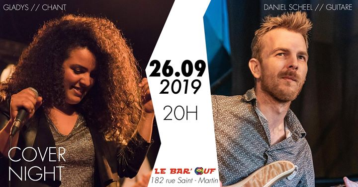 Le Bar'Ouf // Concert // Cover Night à Paris le jeu. 26 septembre 2019 de 19h30 à 22h00 (After-Work Gay Friendly, Lesbienne)