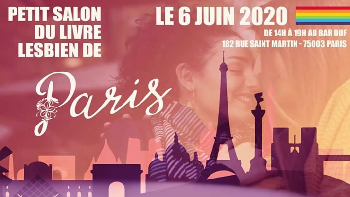 Petit Salon du Livre Lesbien de Paris - Edition 2020 à Paris le sam.  6 juin 2020 de 14h00 à 18h00 (Atelier Gay Friendly, Lesbienne)