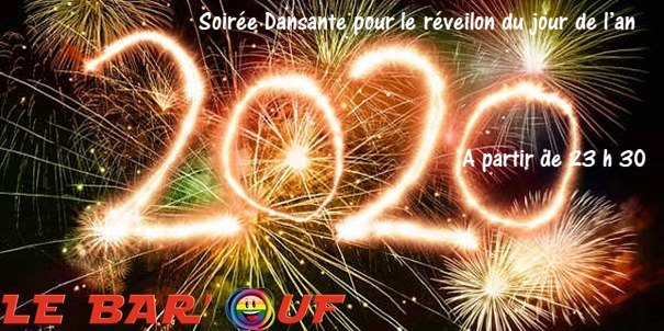 Le Bar'Ouf : Reveillon de fin d'année in Paris le Tue, December 31, 2019 from 11:30 pm to 06:00 am (Clubbing Gay Friendly, Lesbian)