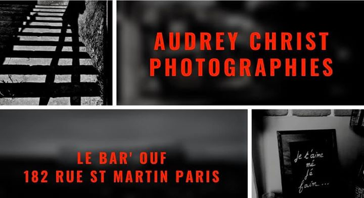 2020 Expo / Le Bar'Ouf Paris/ Audrey Christ Photographies à Paris le mer.  1 avril 2020 de 19h00 à 23h30 (Expo Gay Friendly, Lesbienne)