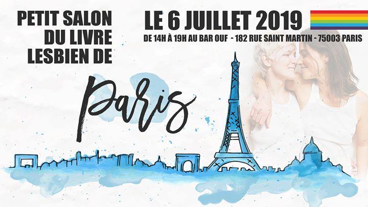 Petit Salon du Livre Lesbien de Paris - Edition 2019 à Paris le sam.  6 juillet 2019 de 14h00 à 19h00 (After-Work Gay Friendly, Lesbienne)